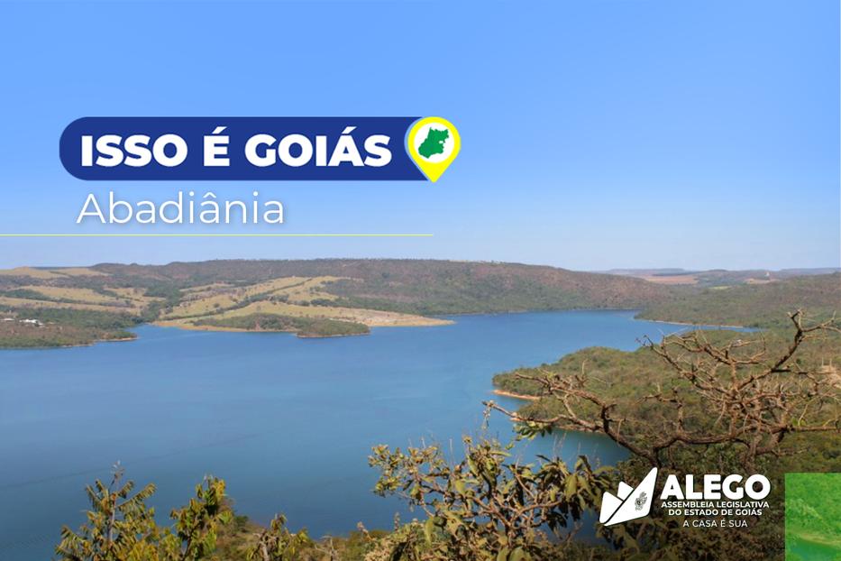 """Abadiânia é o destaque da semana na campanha """"Isso é Goiás"""""""