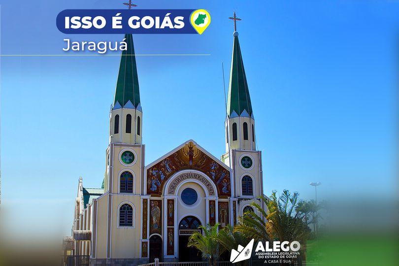 """""""Isso é Goiás"""" destaca Jaraguá"""