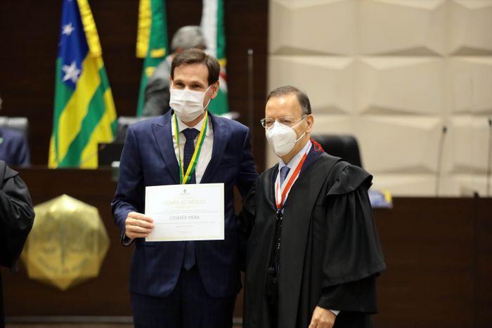 Presidente participa da posse do novo presidente do Tribunal de Justiça