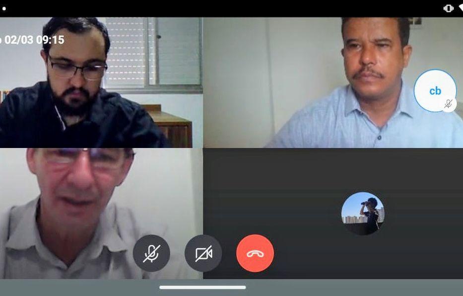 Reunião remota da Comissão de Turismo com Secretários de Turismo das cidades de Goiás e Palmelo