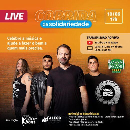 """Live """"Corrida da Solidariedade"""""""
