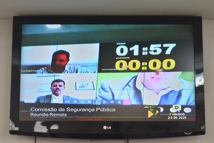 Comissão de Segurança Pública ( reunião remota )