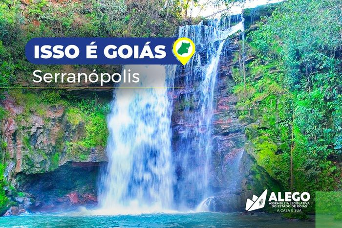 """""""Isso é Goiás"""" - Serranópolis"""