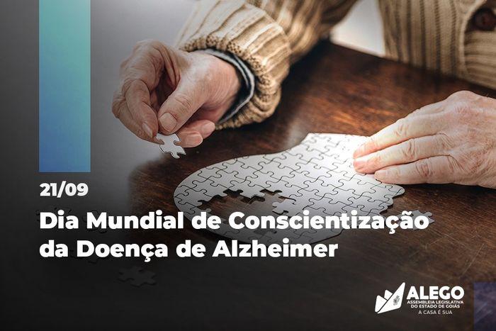 Dia mundial de conscientização da doença de Alzheimer