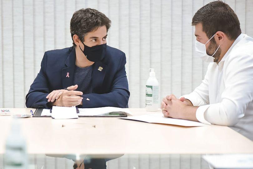 Amilton Filho apresenta ao secretário Ismael Alexandrino ações para o Instituto de Medicina e Comportamento em Anápolis
