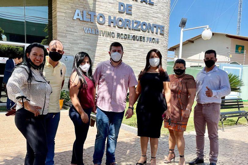 Em visita a Alto Horizonte, deputado Amilton Filho entrega recursos para a Saúde