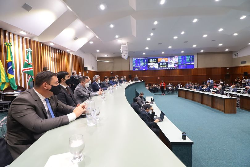 Atividades plenárias da Alego são retomadas com sessão inaugural