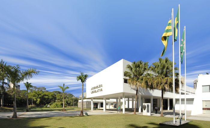 Fachada da Assembleia Legislativa do Estado de Goiás