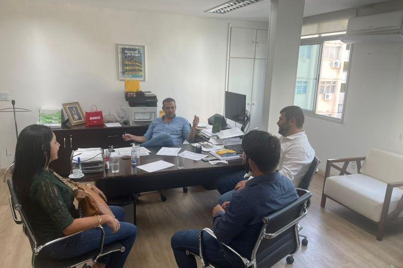 Na Codego, deputado Amilton Filho estabelece ações de desenvolvimento para Campo Limpo