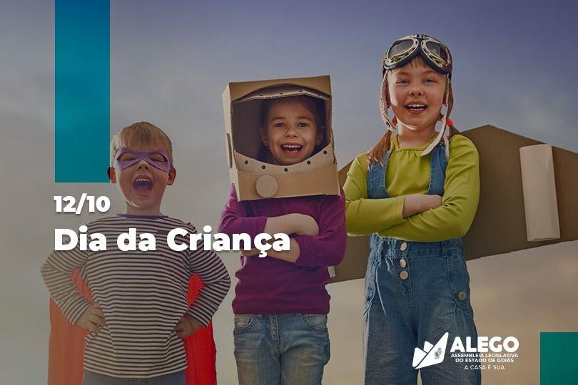 Em comemoração ao Dia da Criança, parlamentares apontam medidas de proteção, tema de vários projetos de lei na Alego