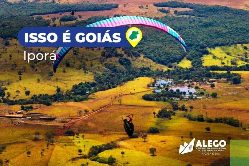 """A história do município de Iporá é retratada na campanha """"Isso é Goiás"""", nas redes sociais da Assembleia"""