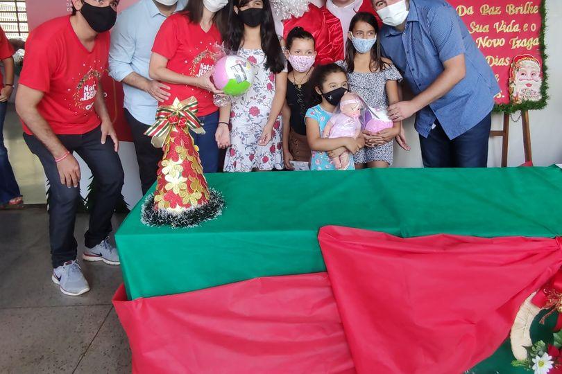 Amilton Filho apoia campanha de Natal da OVG