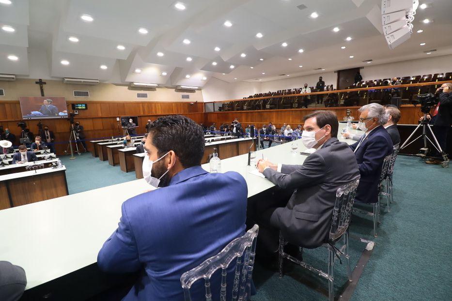 Sessão solene inaugural da 3° sessão legislativa