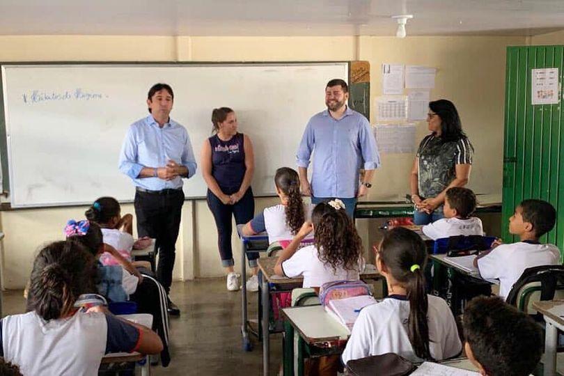 Amilton Filho quer que professores tenham prioridade na vacinação contra a covid-19