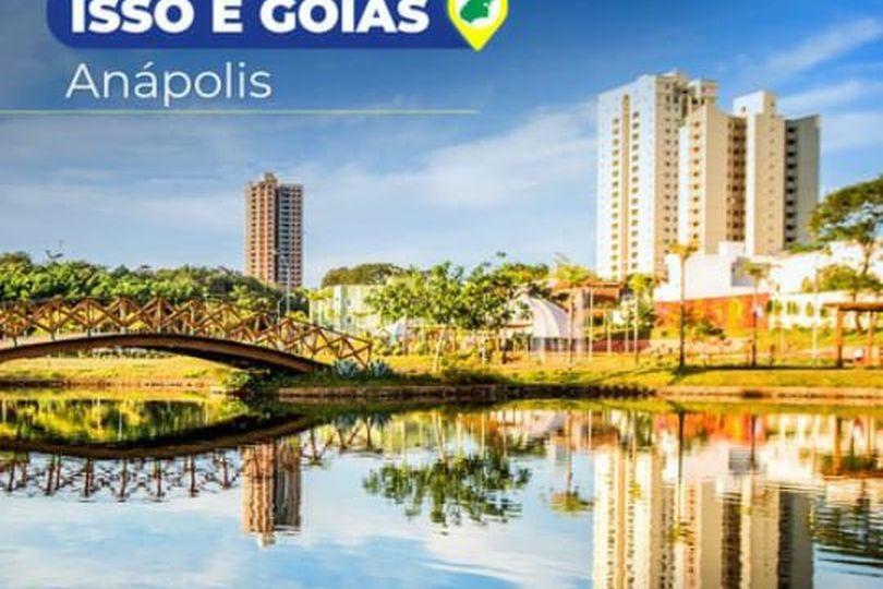 """Série """"Isso é Goiás"""" destaca, nas redes sociais, essa semana, a história e o potencial industrial do município de Anápolis"""