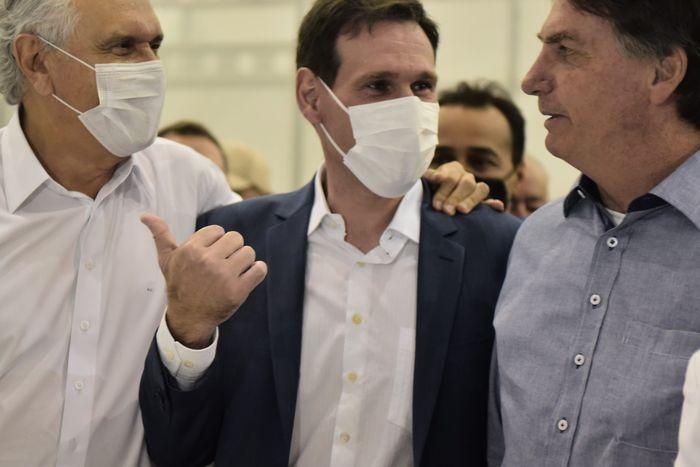 Presidente Lissauer Vieira participa da abertura do hospital de campanha em Águas Lindas de Goiás