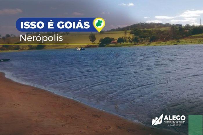"""Campanha """"Isso é Goiás"""" mostra cidade de Nerópolis"""