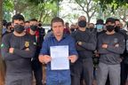 Humberto Teófilo solicita ao Estado porte de arma para vigilante penitenciário temporário de Goiás