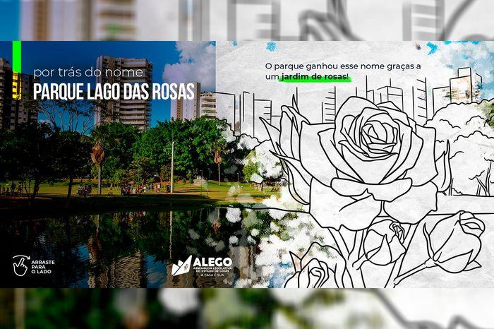 """Lago das Rosas é tema da campanha """"Por trás do nome"""""""